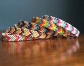 Custom Order Chevron Friendship Bracelet - Pick Your Own Colors