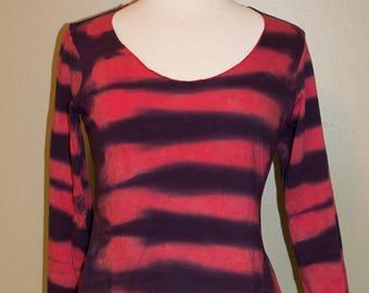 Sailor Stripe Shirt, Size Medium