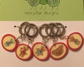 Mama Bear Love - Snagless Stitch Markers