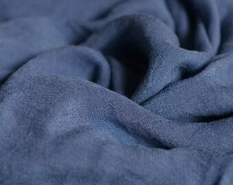 Soft Gauze Fabric Blue MJ2031