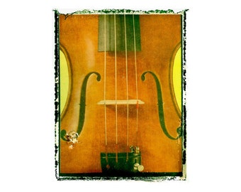 Violin Music  art print / music gift / rock n roll art / music room decor / guitar gift / man cave art