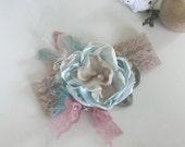 FAll Sale- Baby Girl Headband- Baby Headbands- FlowerHeadband-Once Upon a Time- m2m- Newborn Headband