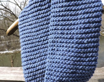 Bluebell Twist Tube Infinity Circle Scarf