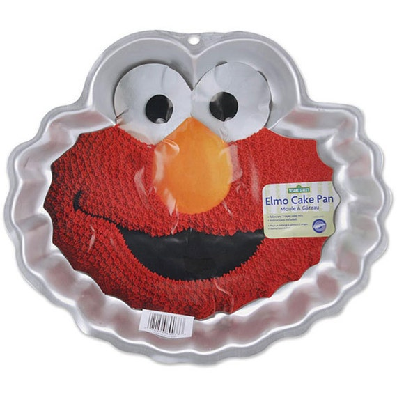 elmo cake pan items similar to elmo cake pan sesame character 3883
