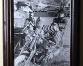 Original Vintage 1970 Rebel Rousers 8 x 10 Photo Jack Nicholson Harley Chopper