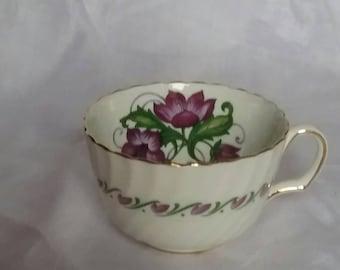 Vintage tea cup fine bone China England Adderly Convoluvus