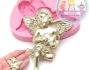 Angel Cupid Mold Silicone Flexible Mould Crafts Jewelry Scrapbooking resin pmc polymer clay Food Safe 412L* BEST QUALITY