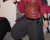 """Custom Order """"CURVY GIRL"""" wrap pants, bag - Pirate, LARP"""