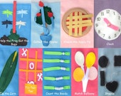 Customize Your Own Quiet Book with 10 activities