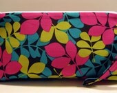 Leaves Print, Essential Oil Travel Bag, Essential Oil Carrying Case, Toiletry Storage & Travel Cases, Oil Bag, Makeup Bag