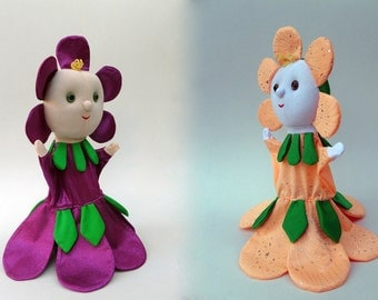 Flora, the flower fairy - hand puppet