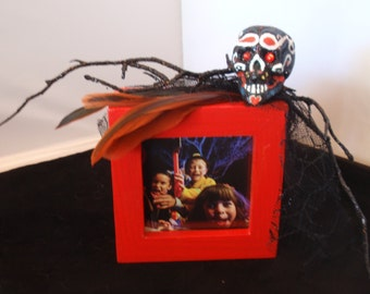 Halloween/Day of the Dead picture frame