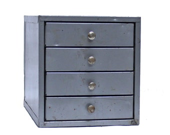 Vintage Industrial Mini Multi-drawer Cabinet