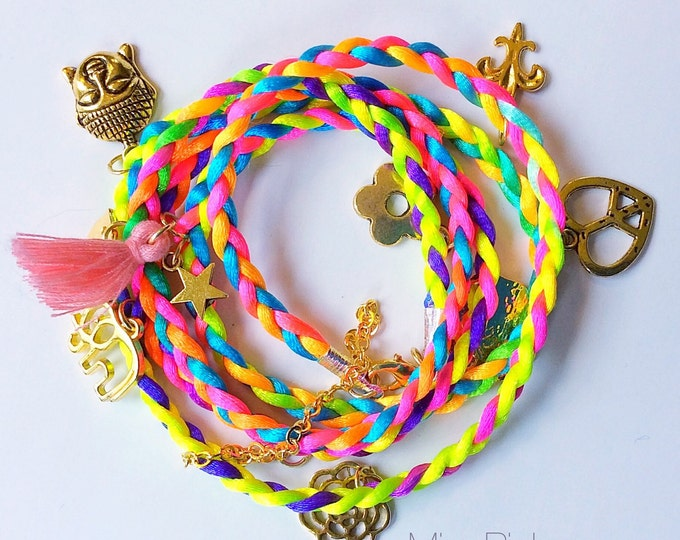 Featured listing image: Buddha Charm bracelet Bohemian