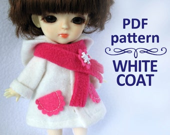 PDF pattern White Coat for Lati yellow / PukiFee bjd