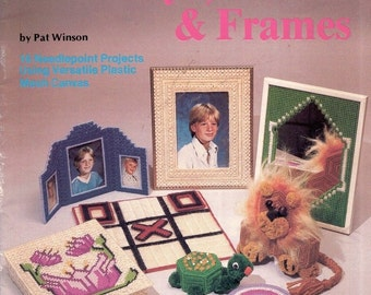 Toys, Games and Frames--Plaid #7486--Plastic Canvas Needlepoint