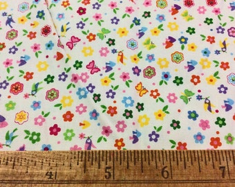 Fabric Sale Grab Bag - Destash Fabric - Kawaii Fabric - flower fabric - blending fabric - tiny print fabric - Sewing - Quilting