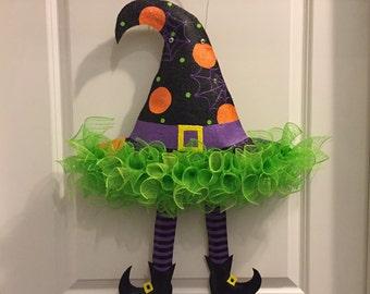 Halloween, Witch Hat Door Hanger