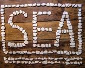 190 Small to Medium Sized Pieces, White Sea Pottery Bulk, Mosaic/Craft/Pendant  Supplies