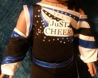Doll replica cheer uniform