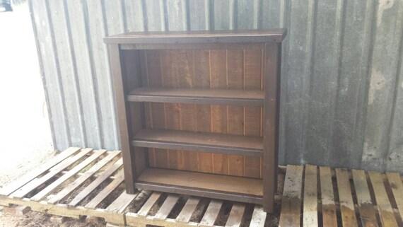 Rustic Reclaimed Bookshelf