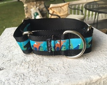 "Bear and Moose 1.5"" Martingale Collar"