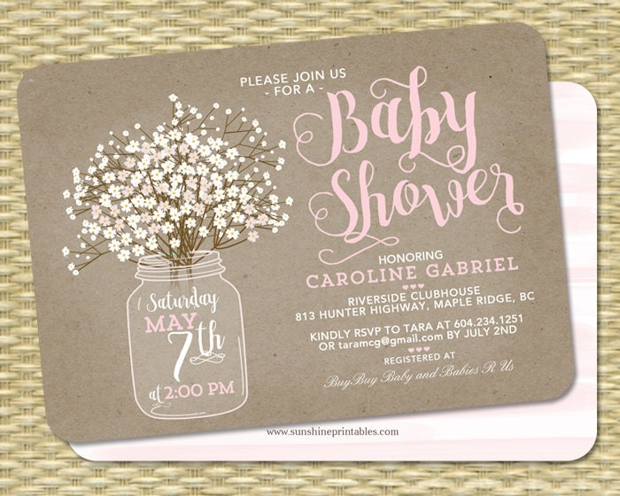 baby shower invite  etsy, Baby shower