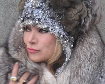 the Snow Princess Hat