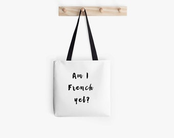 Paris Tote Bag - Paris bag - French market bag