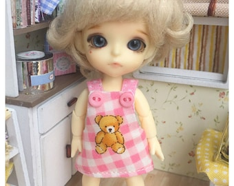 "Lati White Outfit : ""My Bear Dress"" (Dress)"