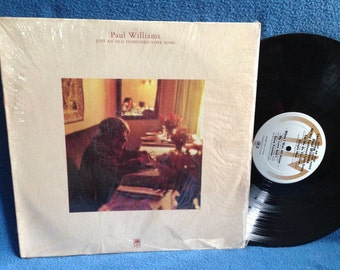 "Vintage, Paul Williams - ""Just An Old Fashioned Love Song"" Vinyl LP Record Album, Original 1971 Press, In Shrink, Simple Man"