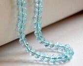 Reserved - Custom Cluster Bracelet in Shades of Blue