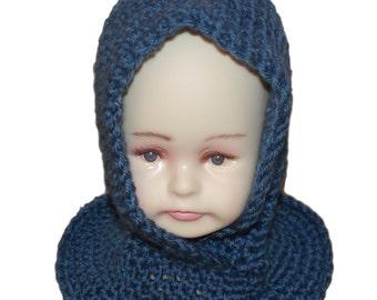 Kids Pixie Hat, Elf Beanie, Baby Gnome Hat, Kids Pixie Hood, Hat Cowl Combo, Baby Elf Hat, Goblin Hat, Hobbit Hat, Woodland Fairy Hood