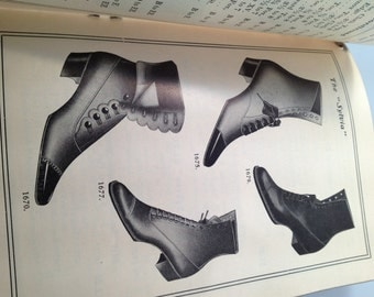 1902 SHOE CATALOG Powell Brothers Shoe Catalogue FALL 1902 Early 20th Century Shoes