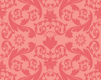 End of Bolt! Kensignton Damask Fabric by Riley Blake