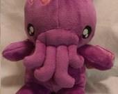 Super Soft Ultra Cuddle Purple Baby Cthulhu Plush