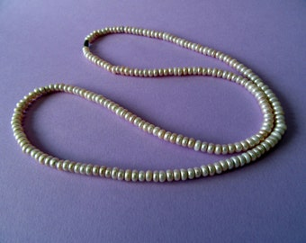 String of Pink Pealrs Necklace from Hyderabad.