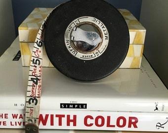 lufkin vintage cloth tape measure 50 foot saginaw michigan