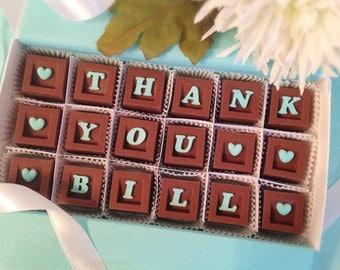 Thank You Chocolates - Chocolate Thank You - Appreciation Gift -