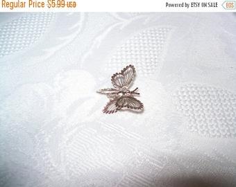 50% OFF Beautiful MONET silvertone Butterfly brooch pin