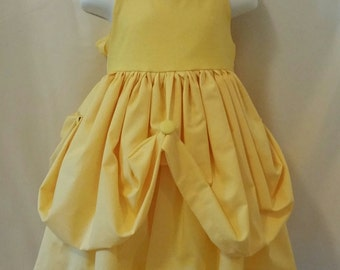 Belle of the Ball  Everyday Birthday Disney Princess Dress 2/3T 4/5T 6 & 8