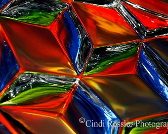 Tricubes, Photography, Abstract Photography, Home Decor