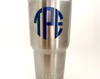 """Shop """"vinyl decal for tumbler"""" in Kitchen & Dining"""