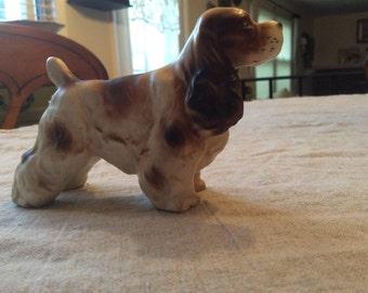 Vintage Spaniel dog figurine