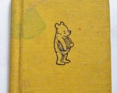 25% Off Storewide Sale Rare 1968 First Edition Pooh And Piglet Go Hunting And Nearly Catch a Woozle Miniature Hardcover Book