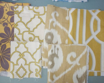 Remnant/Scrap Fabric - Yellow