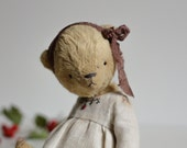 Made To Order Christmas Yellow Teddy Bear Antonina Pocket Soft Stuffed Toy Animal