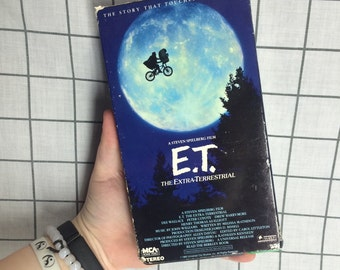 1988 E.T. Extra Terrestrial VHS Tape