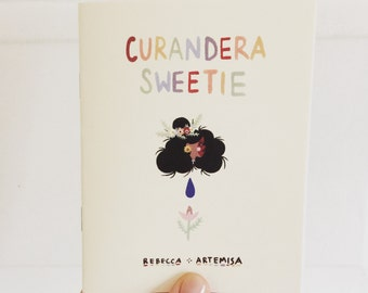 Curandera Sweetie Full Color Self Care Self Love Spell Witch Zine Mini Comic