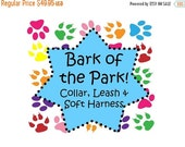 Sale 50% Off Bark of the Park Package - Collar, 5 FT Leash and Soft Harness!, Dog Harness Set